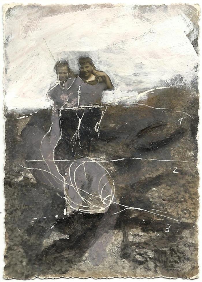 The Dead Dears 16, tecnica mista su foto, cm 7x10, 2012