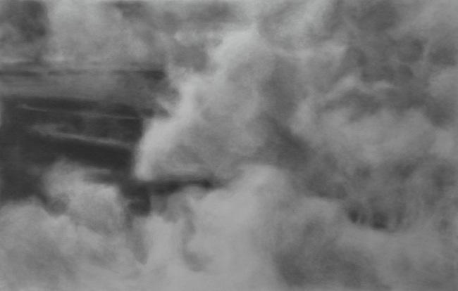 Nikos Arvanitis - A days fog (II), 2013