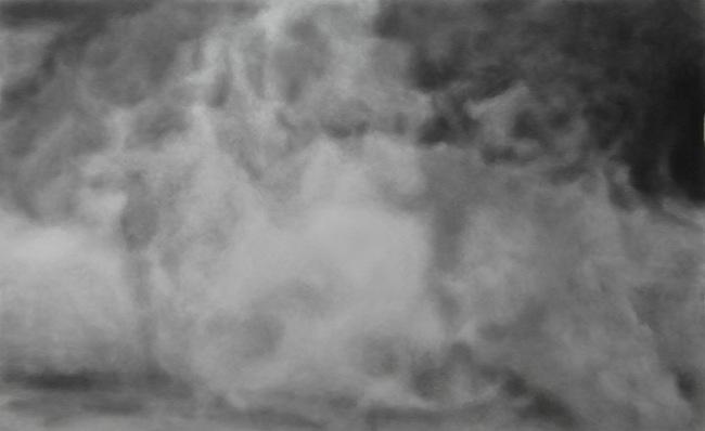 Nikos Arvanitis - A days fog (III), 2013
