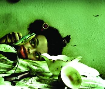 """Alessia Cocca """"Lo spirito di Giorgia"""" (digital mixed media)"""